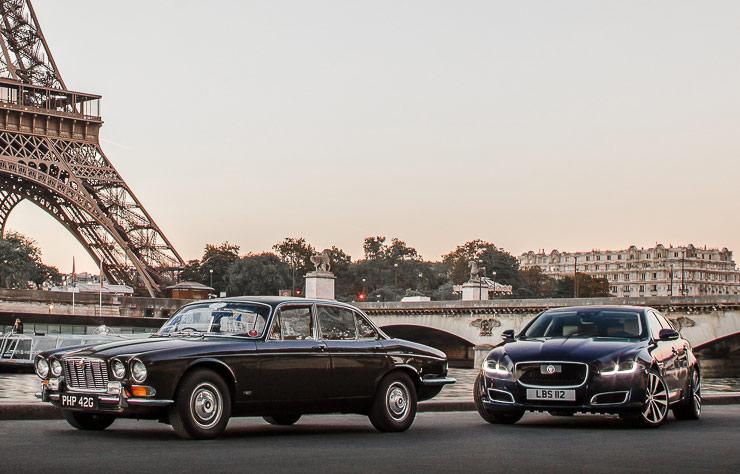 Jaguar XJ 1968 et 2018