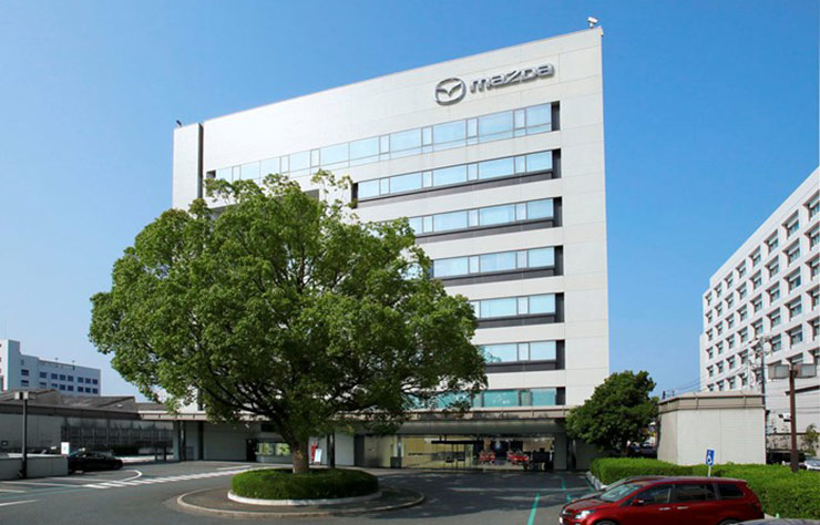 Site Mazda au Japon