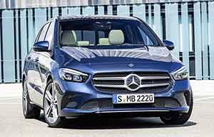 Mercedes classeB: nettement améliorée
