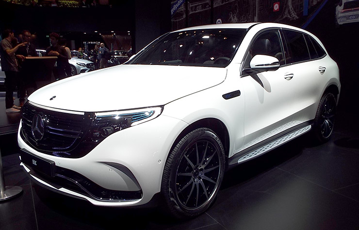 Mercedes-Benz EQC 400 4MATIC de 2018