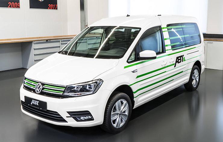 Volkswagen Caddy électrifié par ABT