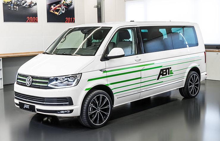 Volkswagen Transporter électrifié par ABT