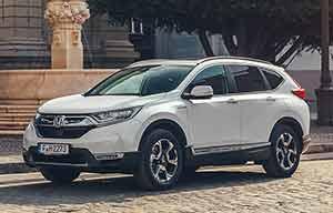 Le SUV Honda hybride homologué à 120g/km de CO2