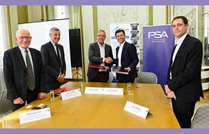 PSA s'associe avec Punch Powertrain