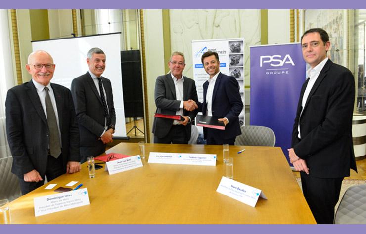 Collaboration entre PSA et Punch Powertrain