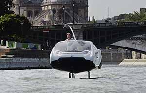 Après Seabubbles, les voitures électriques autorisées à rouler à 200km/h?