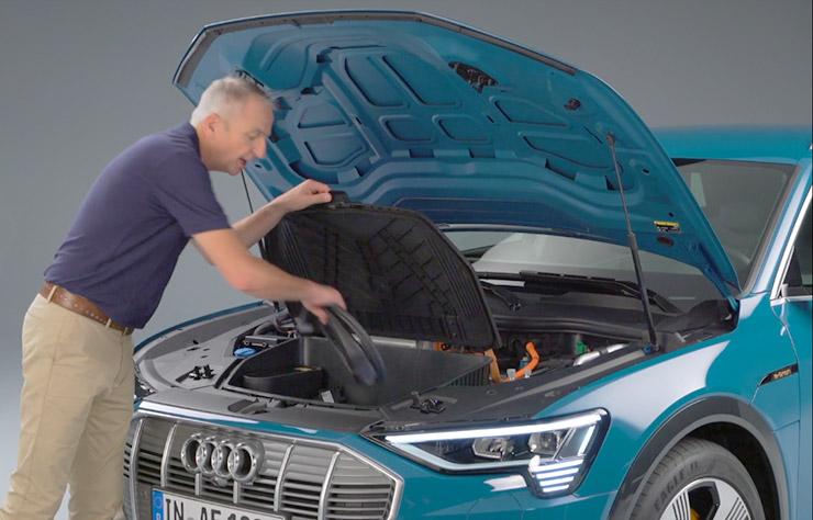 Audi e-tron, la première Audi électrique de série