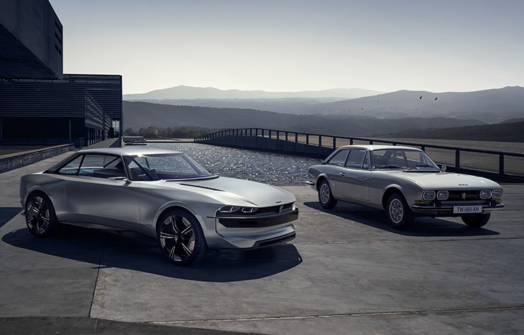 Concept électrique Peugeot e-Legend