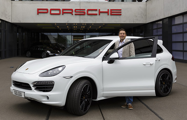 Porsche Cayenne diesel modèle 2013