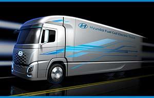 Un poids lourd Hyundai à hydrogène pour l'Europe