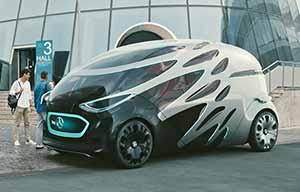 Mercedes Vision Urbanetic, pour des personnes ou des marchandises