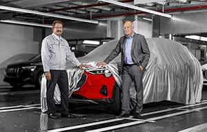 L'Audi e-tron 100% électrique est en production