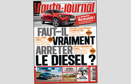 Couverture L'Auto-Journal N°1015