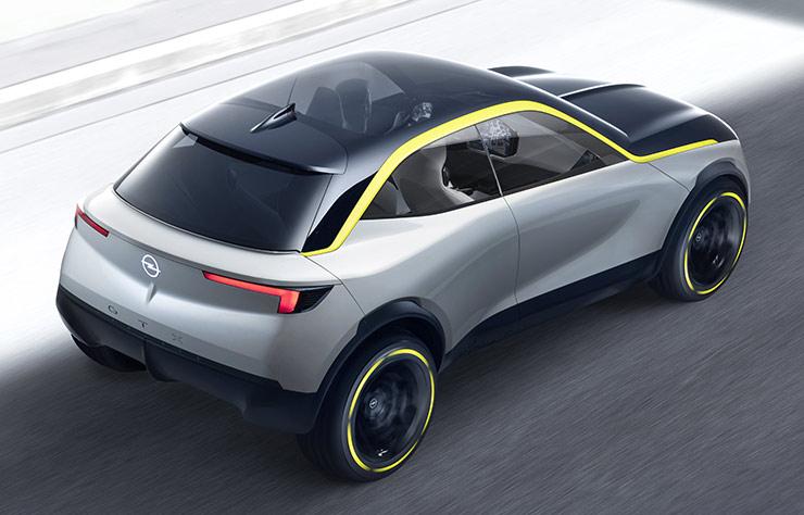 Opel GT X Experimental concept car