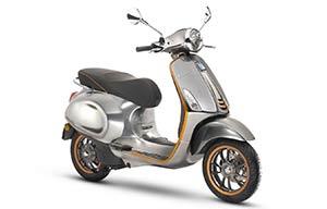 Le Scooter Vespa électrique démarre à 6390€
