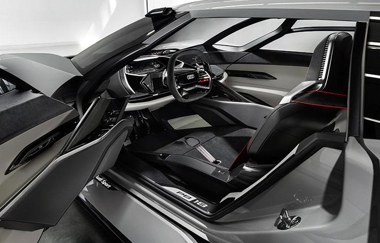 Audi PB18 e-tron concept électrique