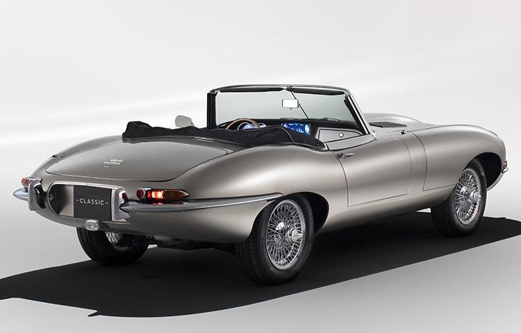 Jaguar Zero Emissions E-Type