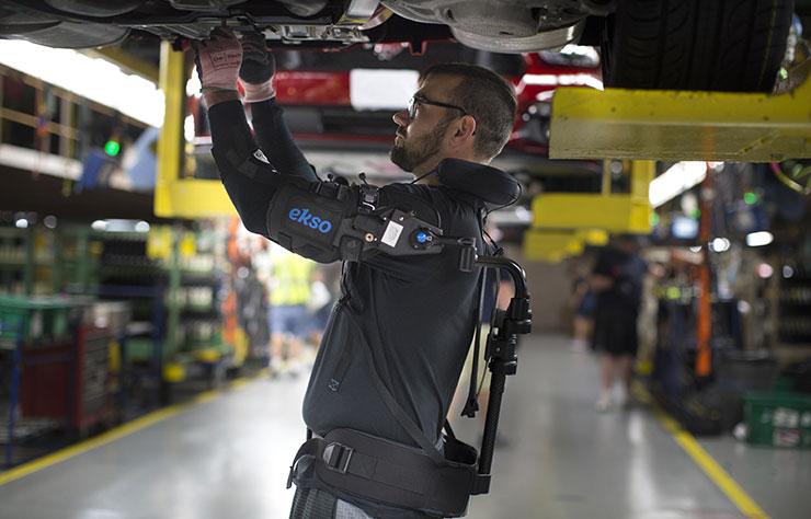 Exosquelette chez Ford