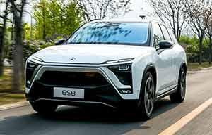 Le SUV électrique ES8 lancé, Nio veut entrer en bourse