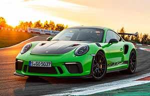 Porsche met du verre Gorilla Glass dans sa GT3
