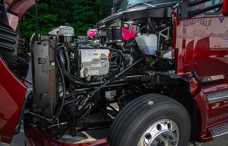 Seconde génération du poids lourd à hydrogène de Toyota
