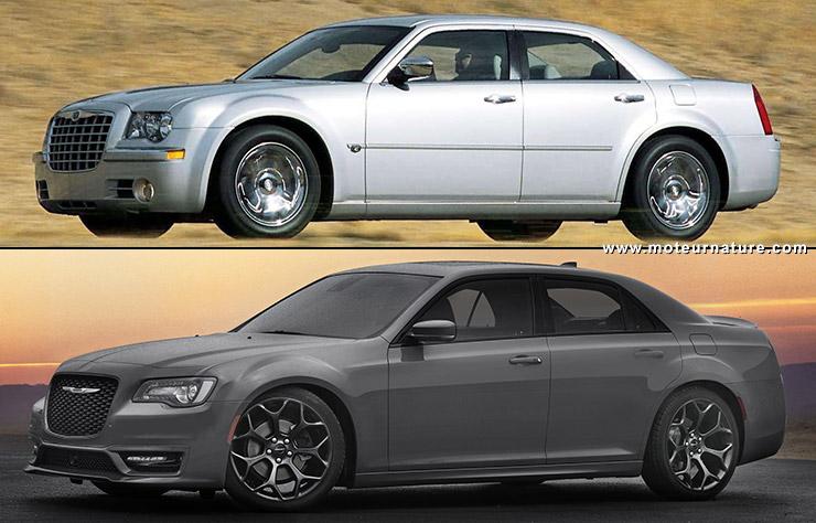 Chrysler 300 modèles 2004 et 2018