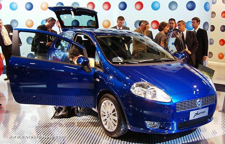 Première Fiat Punto 2005