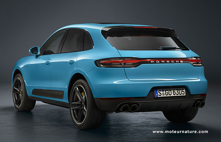 porsche macan restyling sans retour ni arriv e. Black Bedroom Furniture Sets. Home Design Ideas