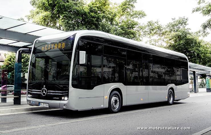 autobus électrique Mercedes eCitaro