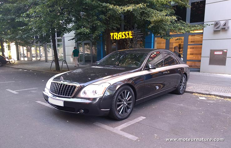 Maybach à Berlin