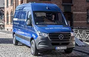 Mercedes eSprinter, un vrai utilitaire électrique