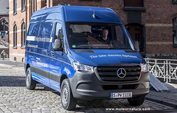 Mercedes eSprinter électrique