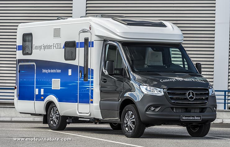 Mercedes Sprinter F-Cell camping-car à hydrogène