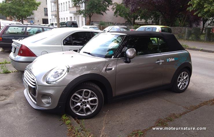Mini de DriveNow à Berlin