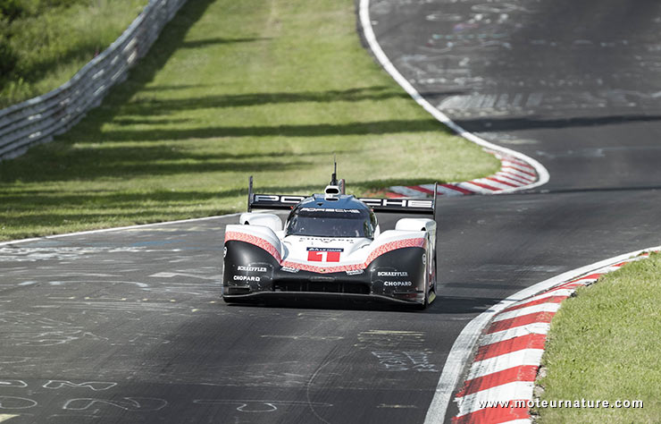 Porsche 919 EVO au Nurburgring