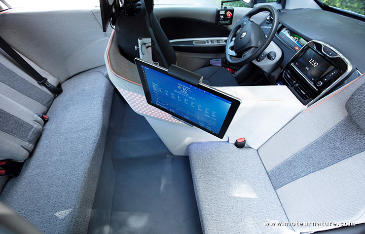 a rouen la zo devient autonome pour des tests en usage r el. Black Bedroom Furniture Sets. Home Design Ideas