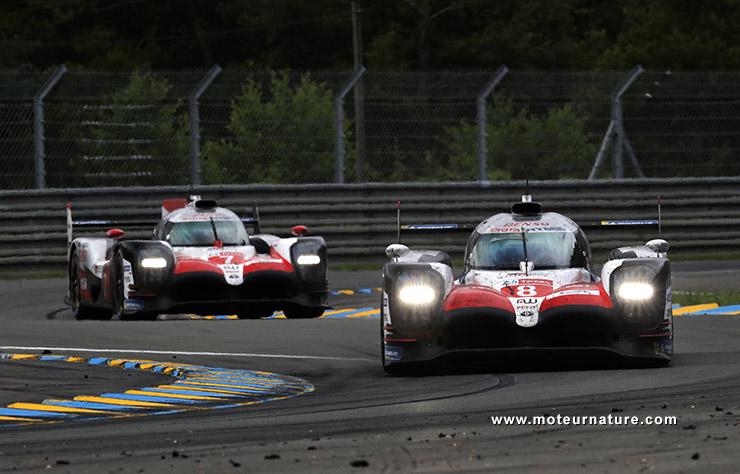 Le doublé Toyota aux 24 Heures du Mans