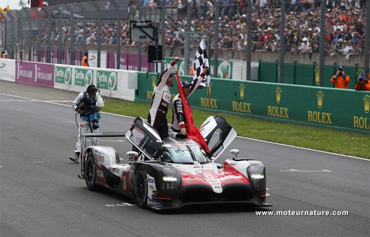 Toyota victorieux aux 24 Heures du Mans