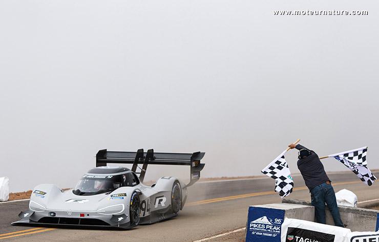 Volkswagen au Pikes Peak