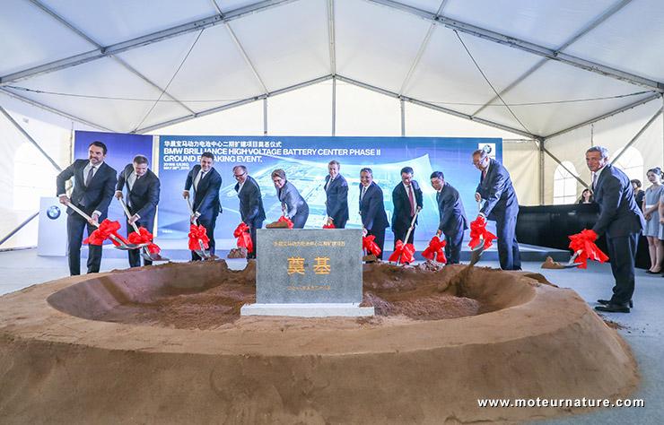 Usine de batteries BMW Brillance en Chine