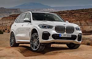 BMW X5: l'hybride n'est pas au départ