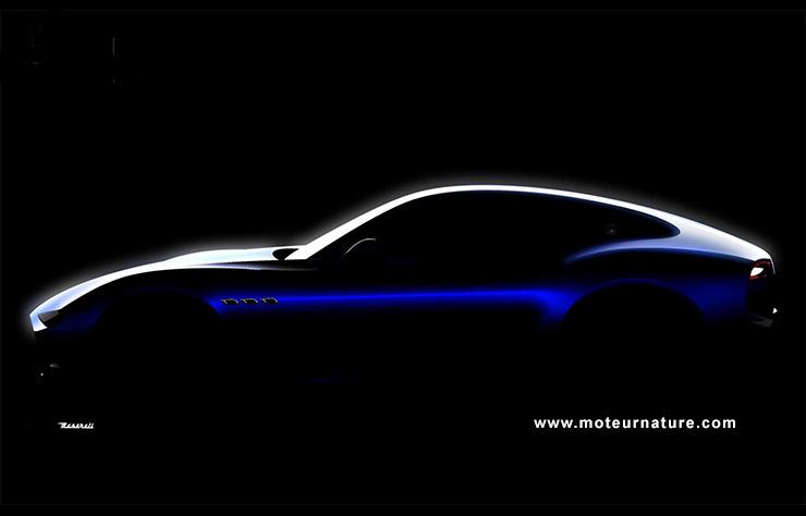 Esquisse Maserati Alfieri