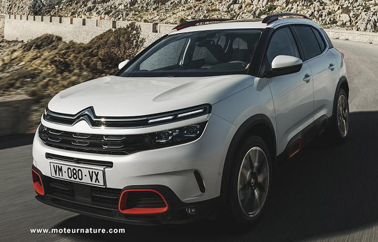 Le C5 Aircross enfin prêt pour la France — Citroën