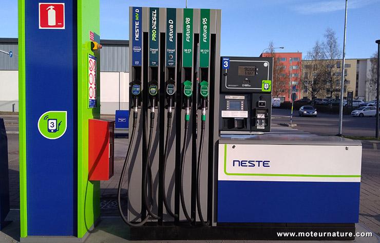 Station Neste MY Helsinki