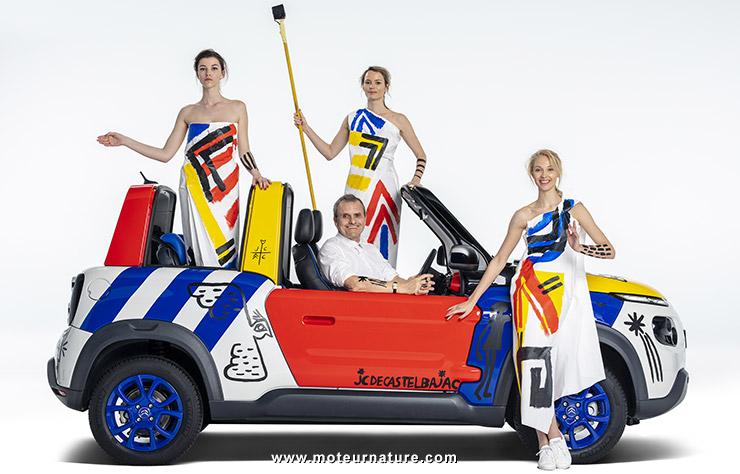 Citroën E-Mehari par Castelbajac