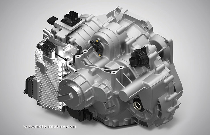 Transmission Punch Powertrain pour PSA