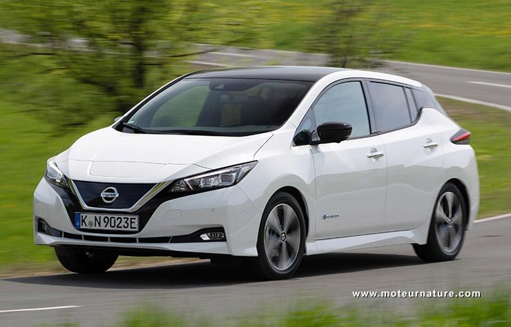 Les roues vertes de MoteurNature : Nissan Leaf