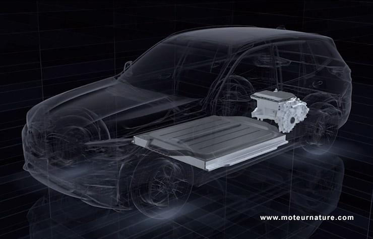 BMW iX3 Concept électrique