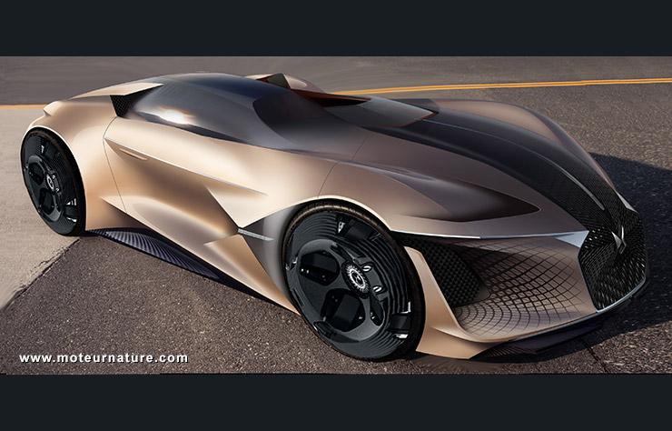 DS X E-TENSE Concept électrique