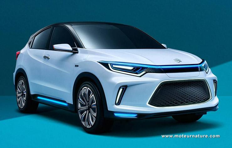 Concept Honda Everus électrique pour la Chine
